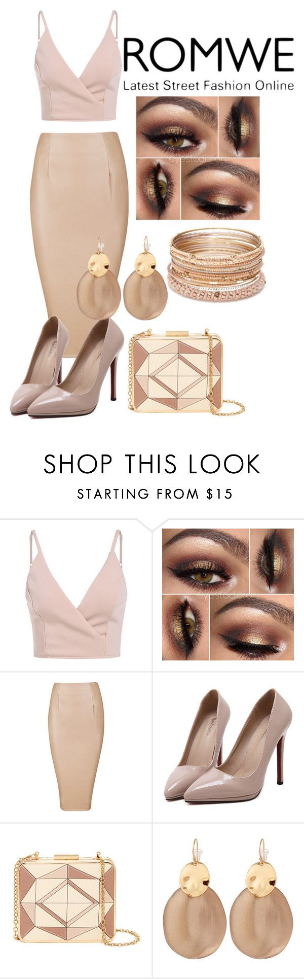 """""""Cami Top"""" by kelli-greer ❤ liked on Polyvore featuring WithChic, Sondra Roberts, Alexis Bittar and Red Camel"""