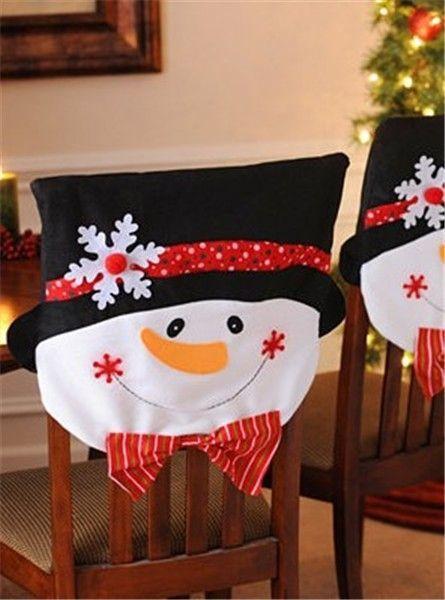 Resultado de imagem para Christmas Chair Covers