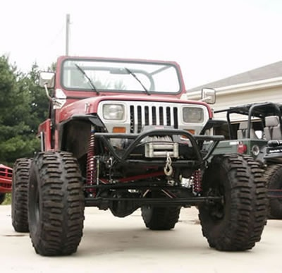 Jeep yj, full widths | Cars Autos | Red jeep, 1999 jeep cherokee