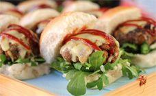 Mini Lamb Burgers Recipe - Christmas