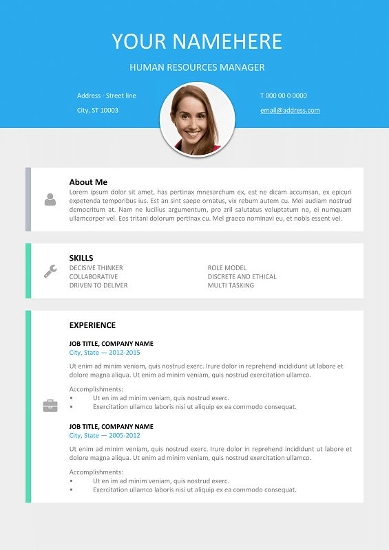 26 best Modern \ Creative resume templates images on Pinterest - website resume examples