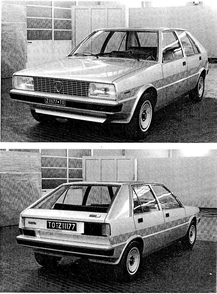 OG |1979 Lancia Delta Mk1 | Full-size mock-up proposal by Giugaro