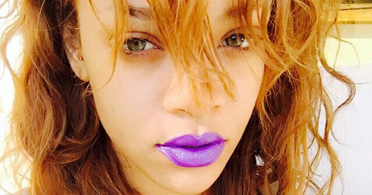 Yes, You Can Pull Off Purple Lips Like Rihanna -- The Cut