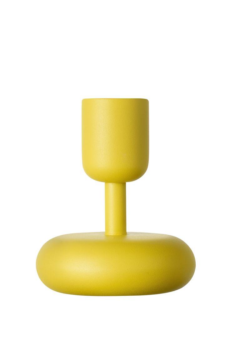 Kodin1 - IITTALA Nappula 107mm keltainen | Lyhdyt ja kynttilät