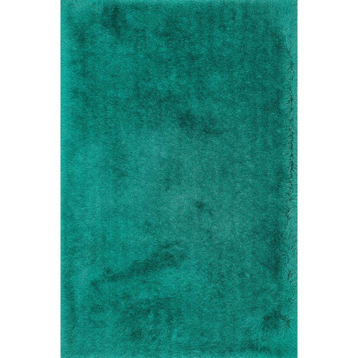 alexander home handtufted evelyn emerald shag rug 3u00276 x 5u0027
