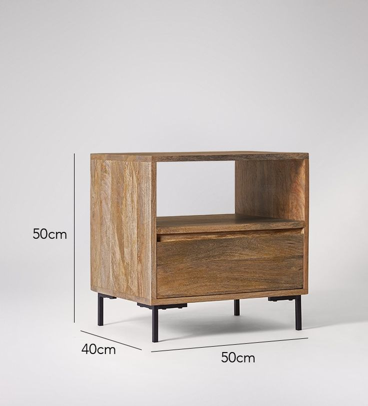 Douglas Bedside Table | Swoon Editions