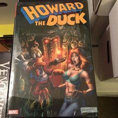 Howard the Duck Omnibus. I gotta get around to opening this. . . . . . . . . . . . . . . . . . . . . . . . . . . . . . . . . . . . . . . #comics #comicbooks #marvel #hulk #deadpool #guardiansofthegalaxy #xforce #xmen #wolverine #spidergwen #adamwarlock #avengers #thor #captainamerica #videogames #xboxone #ps4 #blackpanther #harleyquinn #howardtheduck #captainamerica #ironman #spiderman #venom #moongirl #silversurfer #disney