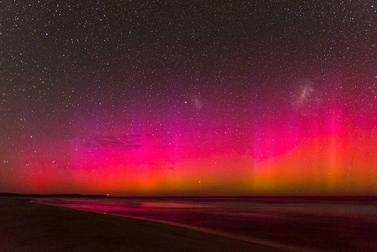 Aurora Australis shot taken on the South Coast of Western Australia at Windy…