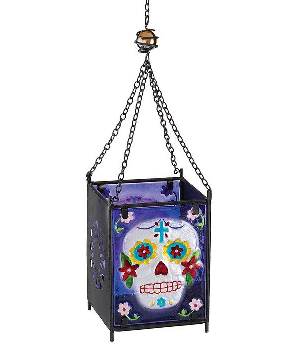 Look at this Day of the Dead Skull Lantern on #zulily today!