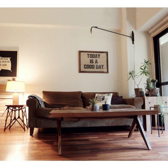 taka55さんの、Lounge,ジャン・プルーヴェ,TRUCK,TRUCK FUNITURE,FKソファ,RC広島支部についての部屋写真