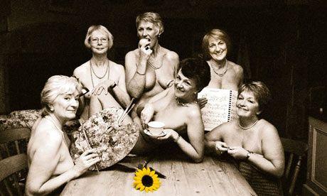 members of the Rylstone & District Women's Institute, 1999 calendar shot