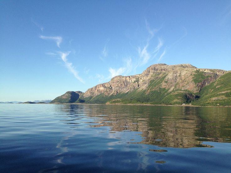 Utenfor Langsanden i Sandvik