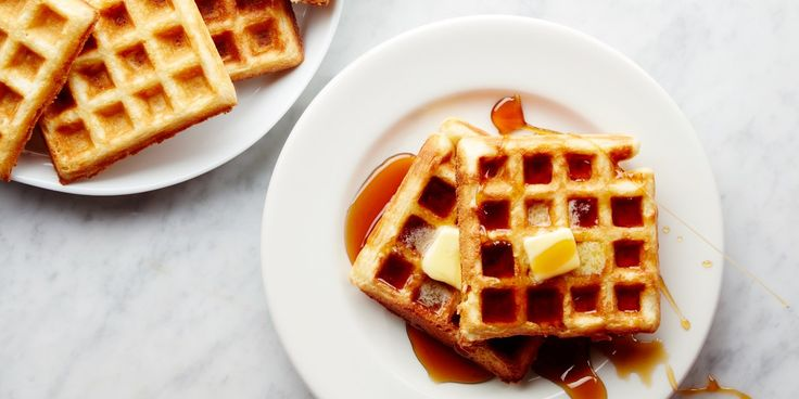 Yeast-raised waffles require planning ahead, but they're absolutely easy - these waffles have a complex flavor profile, are light and moist with a crisp outside, and simply melt in your mouth. They are beautiful with or without syrup.