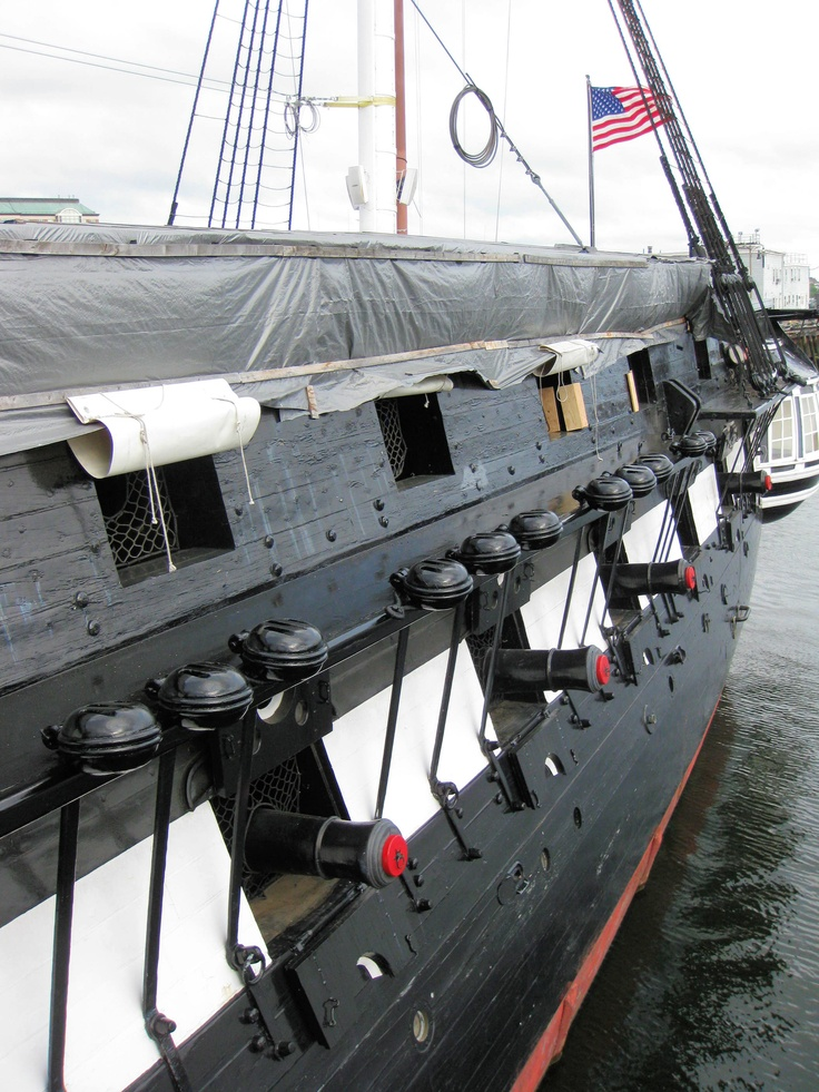Old Ironsides in Boston, Massachusetts