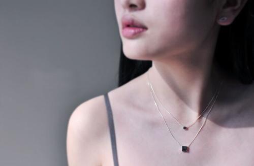 Minimalist Square Necklace    BUY HERE => www.beeutifuljewels.com