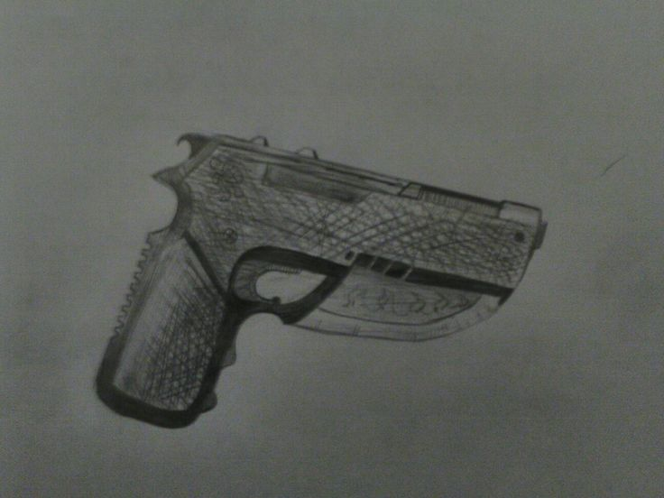Second attempt at a gun!not sure which one I prefer
