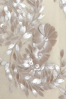 Here!!!! Another one from my other bord!!!! Detail from the embroidery on a dress from Antonio Berardi's SS12 show.