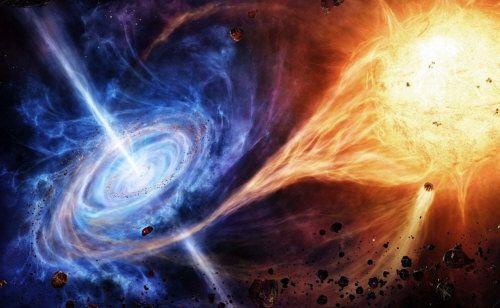 Estrellas y agujeros negros