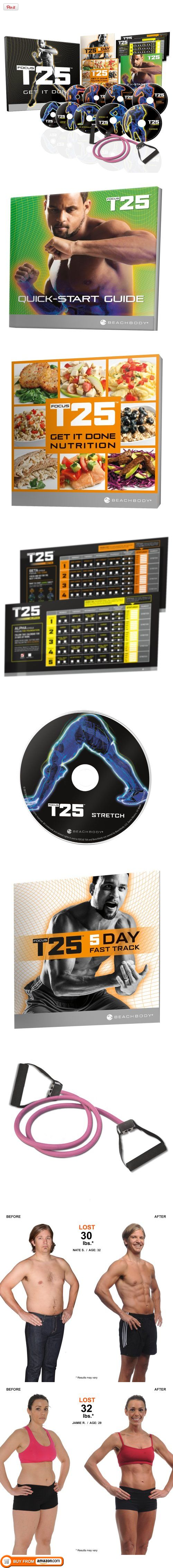 Shaun T's FOCUS T25 DVD Workout, Get an hour's results in just 25 minutes a day. The only thing standing between you and the results you want is time.  LOVE IT!!
