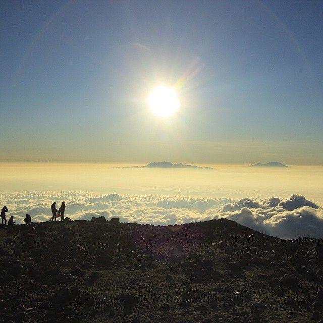 Puncak Mahameru, Gunung Semeru, Pulau Jawa, Indonesia
