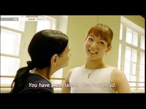 最高峰ロシアバレエに挑む・石井久美子さん19歳 Kumiko Ishii - YouTube