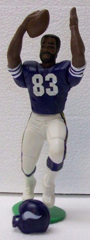 Steve Jordan MINNESOTA VIKINGS 1988 Starting Lineup football figure #Startinglineup