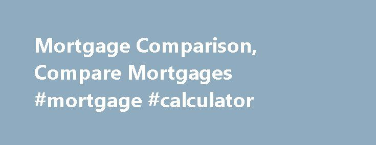 mortgage rates comparison canadian banks