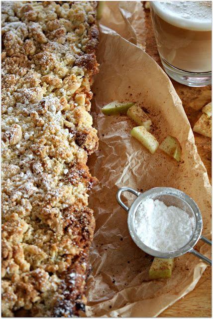Spekulatius-Streusel-Kuchen mit Äpfeln