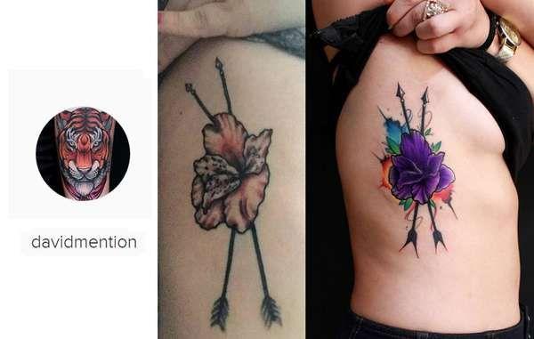 Se você só não está contente com o resultado final da tattoo, dá para refazer o mesmo desenho, com acabamento melhorado.