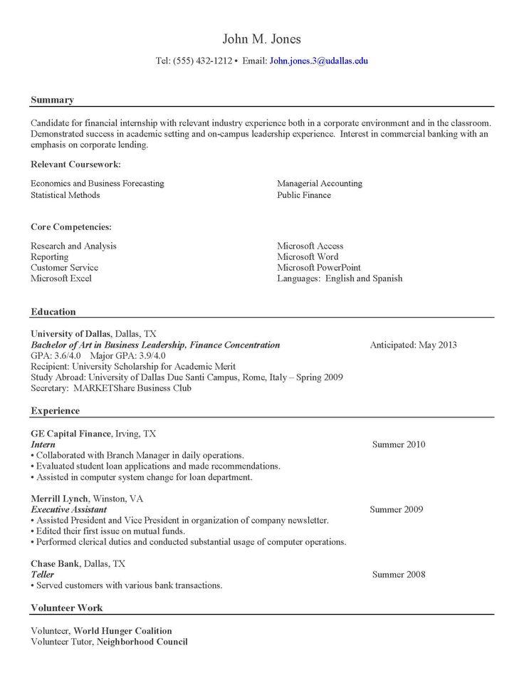Letter chronological resume sample and format letter