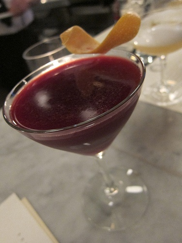 Lipstick At Caulfields Bar And Dining Room Thompson Beverly Hills St George Bontanivore