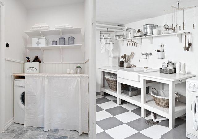 17 best ideas about d co buanderie on pinterest. Black Bedroom Furniture Sets. Home Design Ideas