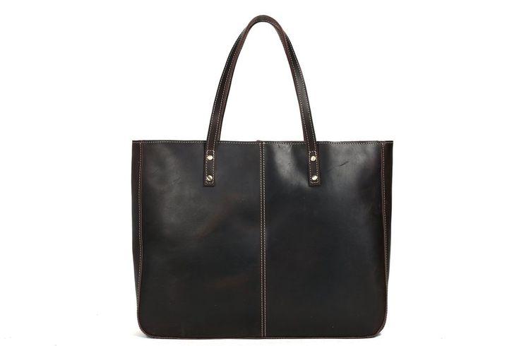 tomiko genuine leather tote bag