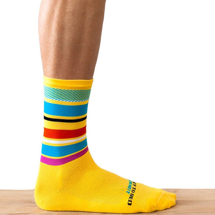 Ornot Yellow Pave Road Sock http://www.alwaysriding.co.uk/ornot-yellow-pave-road-sock-2687.html
