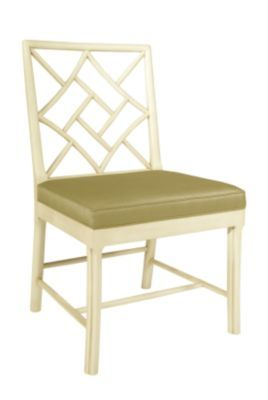 Fretwork Side Chair from the James River collection by Hickory Chair Furniture Co.