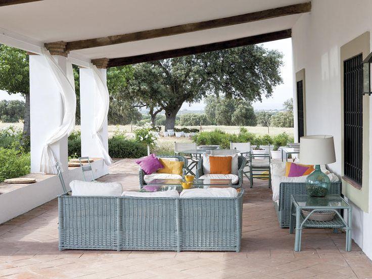 M s de 25 ideas incre bles sobre muebles de porche de for Muebles terrazas ratan