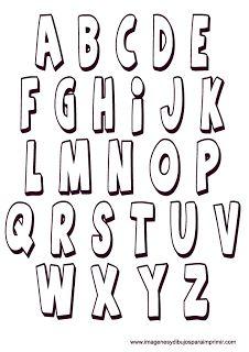 plantillas de letras