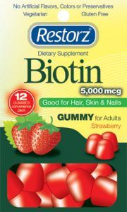 Image result for restorz biotin multivitamin