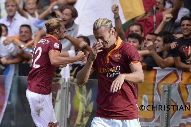 Federico Balzaretti , As Roma , Derby Roma - Lazio 22 settembre 2013