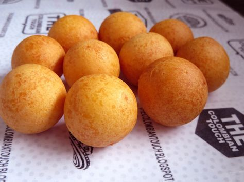 The Colombian Touch: BUÑUELOS COLOMBIANOS REDONDITOS