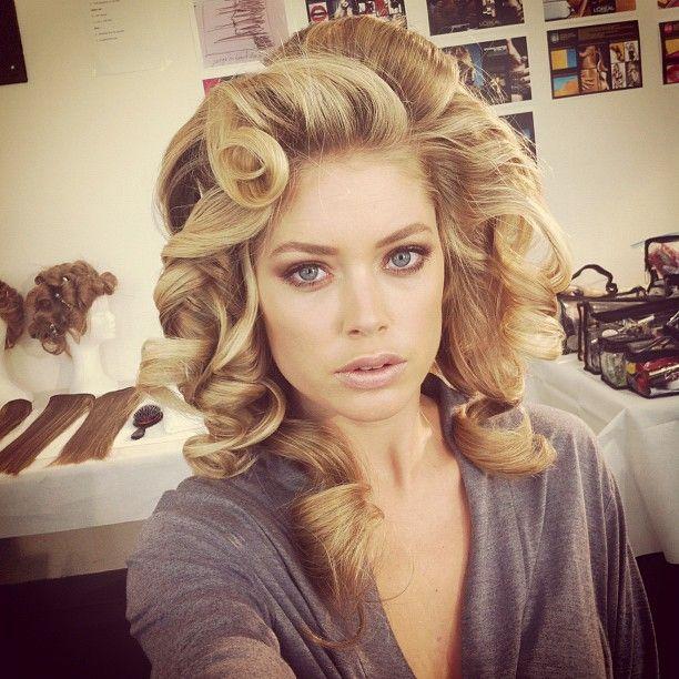 Doutzen Kroes! #ModelTwitPics #Modelinia: Hair Ideas, Blondes Hairstyles, Big Curls, Victoria Secret Hair, Huge Curls, Gorgeous Hair, Hair Style, Beautiful Hair, Doutzen Kroes