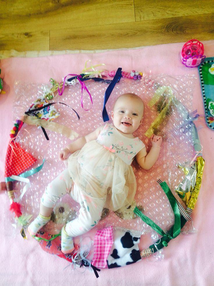 Sensory hoop for baby