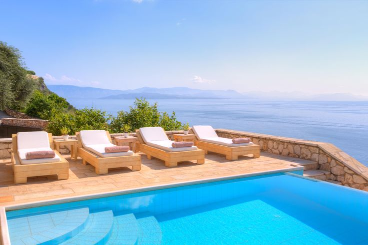 On Corfu Island's northeast coastline that is also known as Kensington-on-Sea, set in the gated grounds of Petrochori Estate, a ...