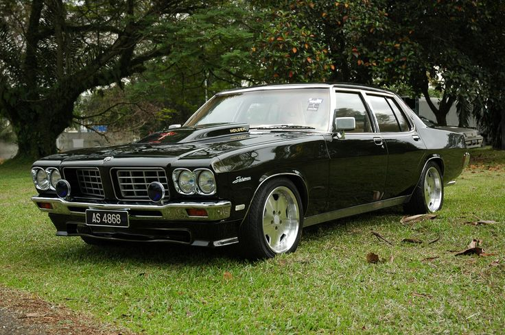 ◆ Visit MACHINE Shop Café... ◆ ~ Aussie Custom Cars & Bikes ~ Kool 1971 HQ Holden Statesman