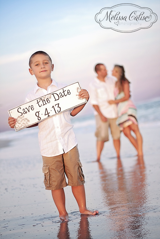 Melissa Calise Photography (Save The Date Engagement Photoshoot Ideas E-Pics Son Family Beach Sunset)