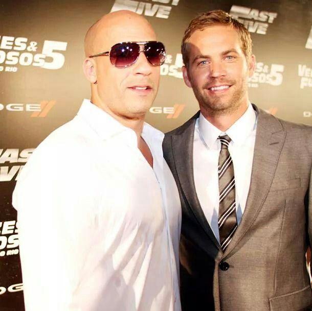 Vin Diesel& Paul Walker...Fast and Furious
