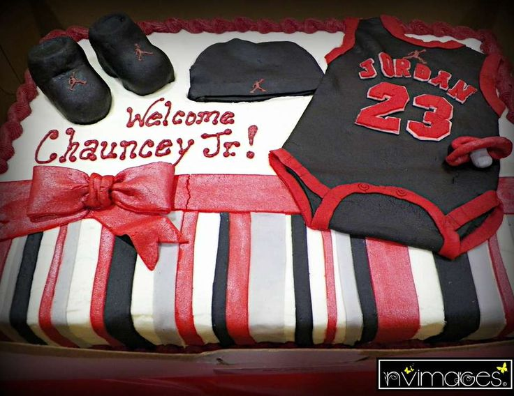 Ashley's Michael Jordan Jumpman Themed Baby Shower
