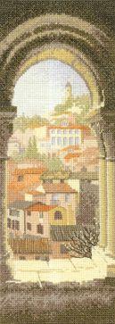 Spanish Arch - John Clayton International Cross Stitch