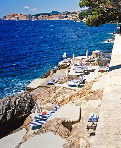 Villa Dubrovnik, Dubrovnik, Croatia  Known as one of the 10 best medieval walled cities in the world, Dubrovnik knows how to mix history with a whole lot of luxury.