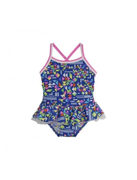 Escargot Fusion Pop Crossback This gorgeous one piece, double lined, crossed back swimsuit is the seasons must have item!